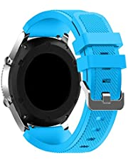 Sport Silicone Bands Straps Bracelet Watch Size 22mm for Huawei Watch GT1, Huawei Watch GT2 46mm, Galaxy S4 46mm, Samsung Active2 44mm, Honor Magic2 46mm - 2725494461783