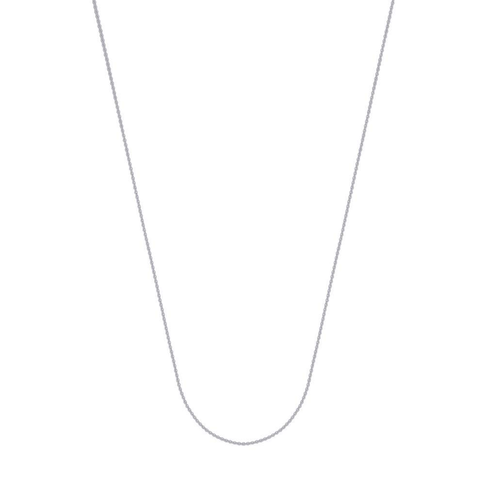 10k Cable Chain Necklace in White Gold Yellow Gold Choice of Lengths 16 18 20 and 1.05mm