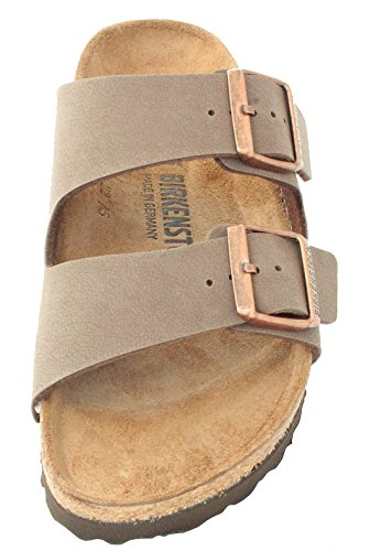 Birkenstock Arizona Mocha Birko-Flor 'Narrow Fit' Women's Sandals (9-9.5 US Women - 40 N EU) by Birkenstock (Image #7)