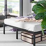 ZINUS Yelena Metal Platform Bed Frame / Steel Slat