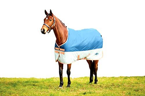 (Saxon 600D Standard Med Blanket 84 Dark Blue/Orang)