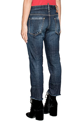 Cotone Dsquared2 Jeans S75la0905s30342470 Donna Blu wRztnXxqZ4