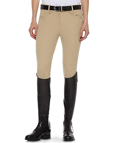 Low Rise Breech (ARIAT Women's Heritage Low Rise Riding Breeches Beige 30 LNG US)