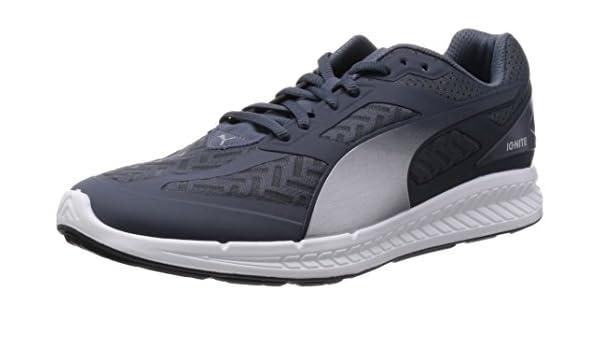 f131858b6bb0 Amazon.com  Puma Ignite Power Cool Mens Running Shoes - Grey-8  Sports    Outdoors