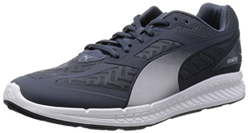 Puma Hommes Enflammer Pwrcool Chaussures De Course Turbulence / Argent