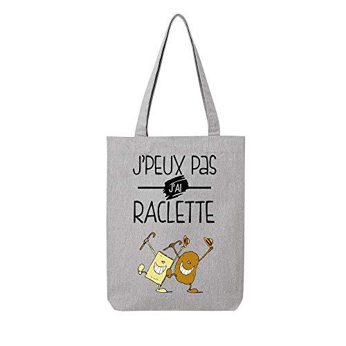 pas Tote recycle peux toile en ai bag j raclette gris j wwxBgfOq