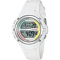 Armitron Sport Women's 45/7045RNB Multi-Color Accented White Resin Strap Watch
