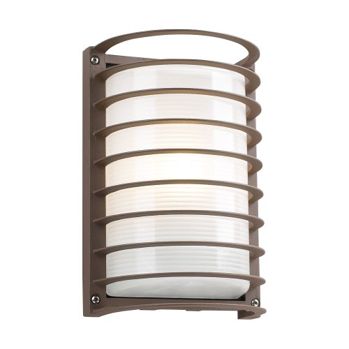 PLC Lighting 2038 BZ Outdoor Fixture, Sunset Collection, Bronze finish -