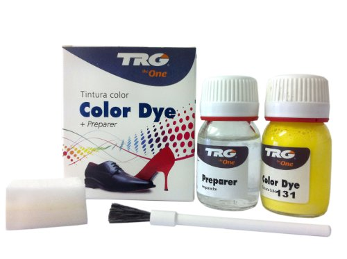 TRG the One Self Shine Leather Dye Kit #131 Lemon - Dye Lemon