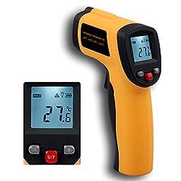 BENETECH GM-550 12:1 Infrared Thermometer Laser IR Pyrometer -50~550°C -58~1022°F 0.95EM Celsius