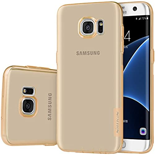 Samsung Galaxy S7 Edge Case,Nillkin[Transparent Thin Soft]Nature Series TPU Case Back Cover for Samsung Galaxy S7 Edge -Retail Package Brown Sales