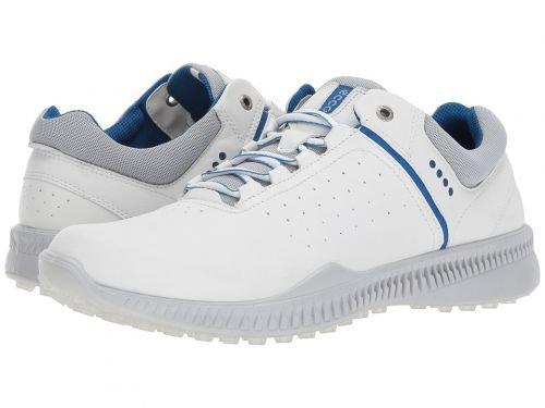 ECCO Golf(エコー ゴルフ) メンズ 男性用 シューズ 靴 スニーカー 運動靴 S-Drive Perf - White/Concrete [並行輸入品] B07BMQYS6R