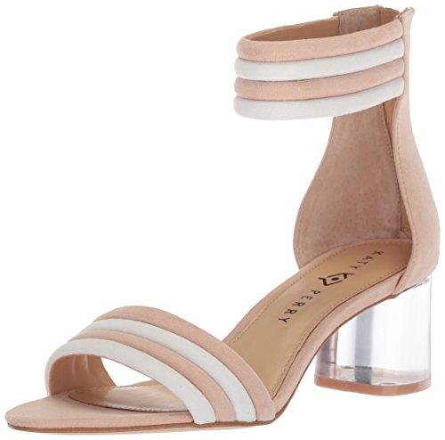 Katy Perry Women's The Sierra Heeled Sandal, Blush Nude, 7 Medium US