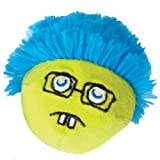"100% Catnip Filled Crazy Faces Geek 1.5"" Cat Toy By Cosmic"