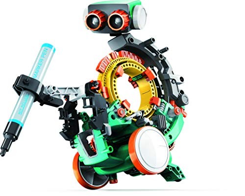 41vQiukRbKL - Elenco Teach Tech Mech-5   Programmable Mechanical Robot Coding Kit   STEM Educational Toys for Kids 10+