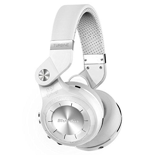 722ee8800b5 Bluedio - T2+ (Turbine 2+) - Wireless Bluetooth 4.1 Stereo Headphones with  Microphone Headset for Hurricane Around-Ear Headphones - Micro-SD/FM Radio  ...
