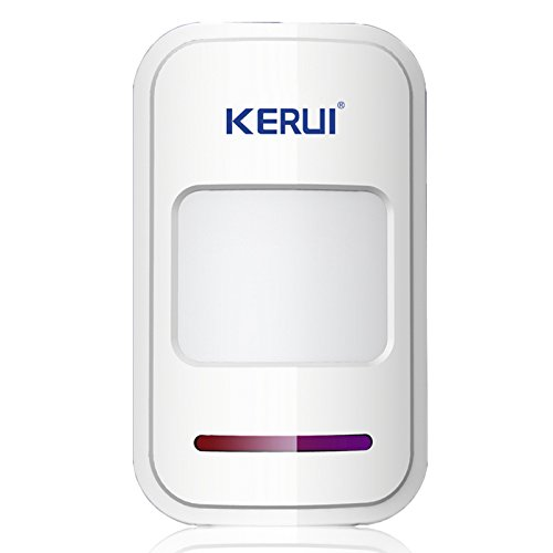 KERUI 433MHz Safety Driveway Patrol Infrared Wireless Intelligent PIR Motion Detector For GSM PSTN Home Security Alert Alarm System be notified of your surroundings by KERUI