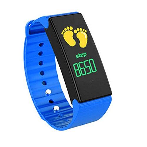 Bracelet intelligent L'anneau de main de sport intelligent IP67 imperméable à l'eau de l'étape de l'information de l'information push surveillance de la santé.