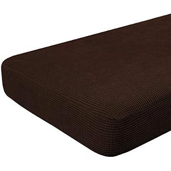 Amazon Com Easy Going Stretch Cushion Cover Sofa Cushion