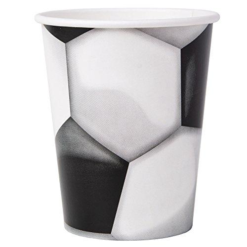 BirthdayExpress Soccer 9oz Paper Cups (8)