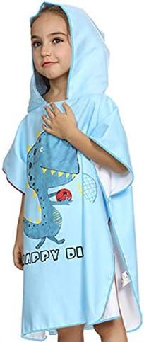 Ymwave Asciugamano per Bambini 100/% Cotone per Bagno Spiaggia Asciugamano da Bagno Poncho Bambini Teli da Poncho da Bagno con Cappuccio Balneazione Wrap Vestaglia per Ragazzi e Ragazze