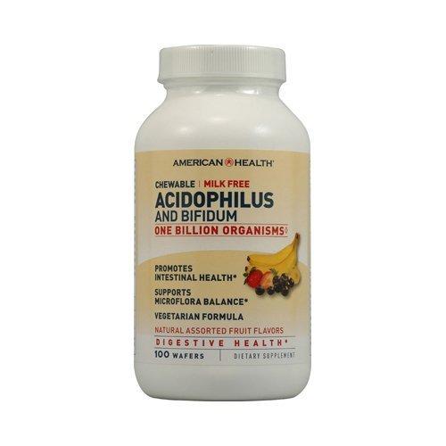 American Health - Acidophilus, Chew Asst Fruit Flavor 120 Ct ( Multi-Pack)