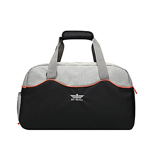 Oshide Gym Bag Traveling Bag Waterproof Large Capacity Fitness Sport Fitness Bag with Shoes Compartment Travel Duffel Bag for Women and Men by Oshide