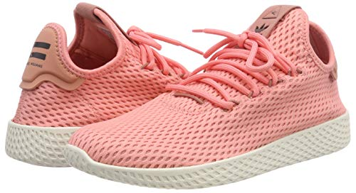 adidas Originals PW Tennis HU Mens Trainers Sneakers (UK 3.5 US 4 EU 36, Pink White BY8715) by adidas (Image #5)