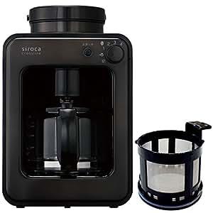 siroca crossline full automatic coffee maker Special set SC-A121TB-TMF (Black)