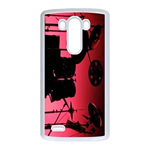 LG G3 Cell Phone Case Covers White Drumsing NRI5059175