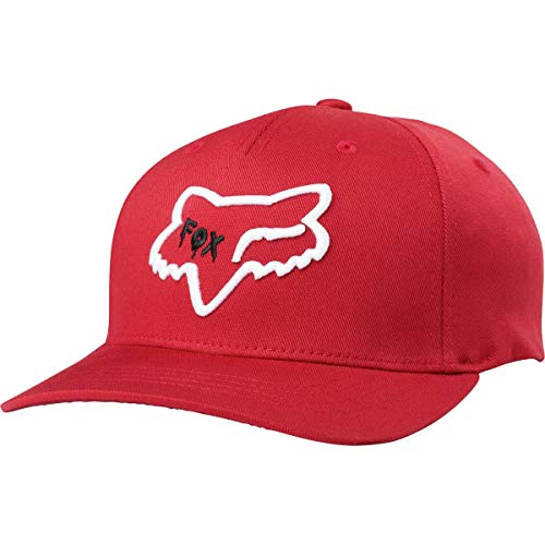 Fox Racing Youth Czar Head 110 Snapback Hat-Cardinal
