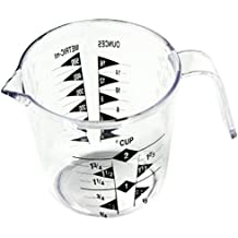 Chef Craft 2-Cup Measuring Cup, Clear