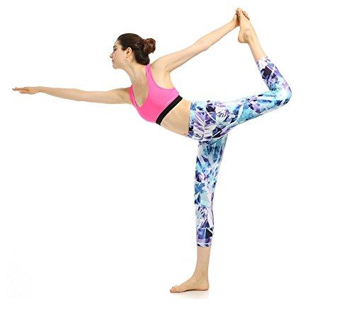 Deportivos Jogging Yoga De Mujer Pantalones Compresión Fuweiencore Azul Polainas Tela Aptitud La wx0XEq5U