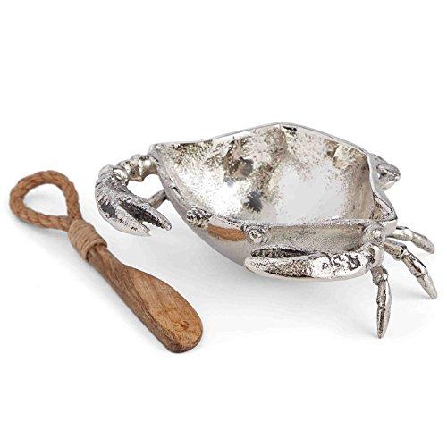 Mud Pie 4851032 Spreader Silver