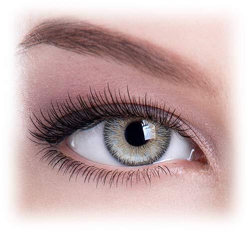 Lentillas De Colores, la beauté, le glamour Grey Tri Color (Best Grey Contacts For Dark Eyes)