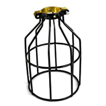 ADX Metal Lamp Guard for String Lights and Lamp Holders, Single Pack