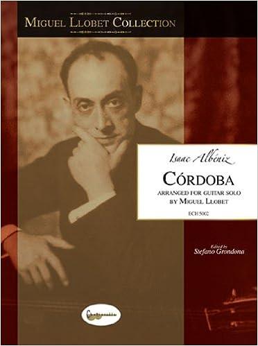 Miguel Llobet Collection Isaac Albeniz Cordoba