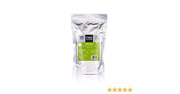 Alga Spirulina Orgánica en Polvo   Producción 100% Ecológica y Natural   Alga Spirulina Pura   Ningun Aditivo   Potente Antioxidante Natural   500 g ...