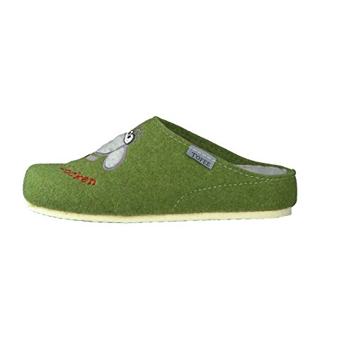 Toffee Toffee Chaussons Chaussons Femme Vert pour Oan8vHq