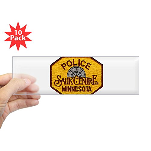 CafePress - Sauk Centre Police Sticker (Bumper 10 Pk) - 10