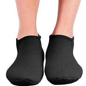 Seavenger Wetsuits Premium Neoprene Water Fin Sock 3mm (Black) - XL