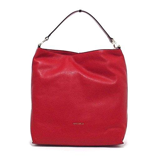 Coccinelle , Sac pour femme à porter à l'épaule rouge rouge
