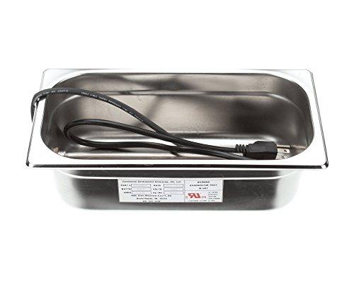 Master-Bilt 17-09601 Condensate Pan, Stainless, 400W, 120V