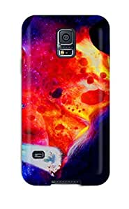 Caronnie Premium Protective Hard Case For Galaxy S5- Nice Design - Space Kiwi by icecream design