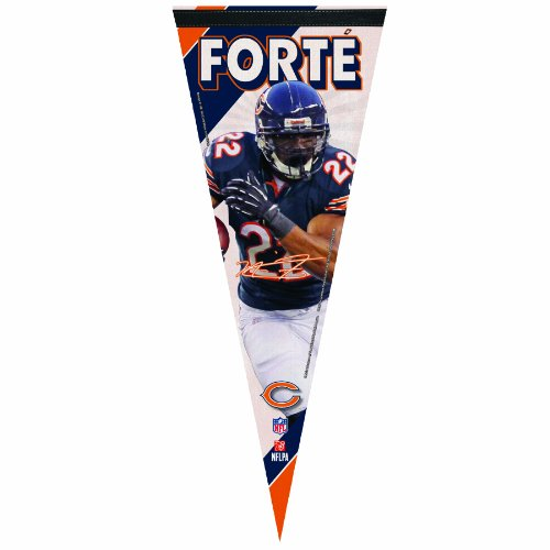 NFL Chicago Bears Matt Forte 12 by 30-Inch Premium Quality Pennant by WinCraft