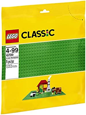 LOT 10x LEGO Classic BASEPLATE 10700 Green /& Grass 10714 Water Blue AUTHENTIC !