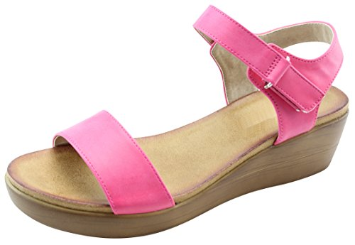 Cambridge Selezionare Donna Single Open Toe Single Donna Band Velcro Alla c0a8e3
