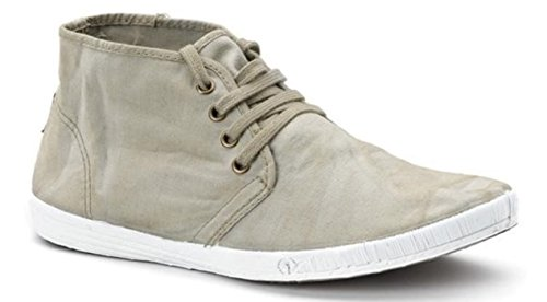 Natural World Eco Herren Canvas Sneaker Sneakers Turnschuhe Leinenschuhe