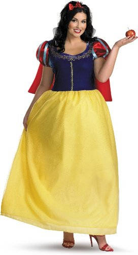 Snow White Deluxe Adult Costume - X-Large