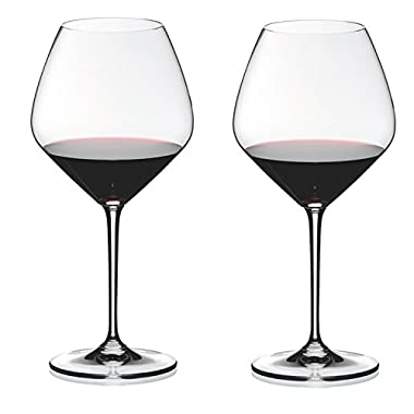 Riedel Heart to Heart Crystal Pinot Noir Wine Glass, Set of 4